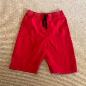 Comfy Long Red Shorts -S XL (14/16)